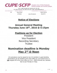 Notice of Elections